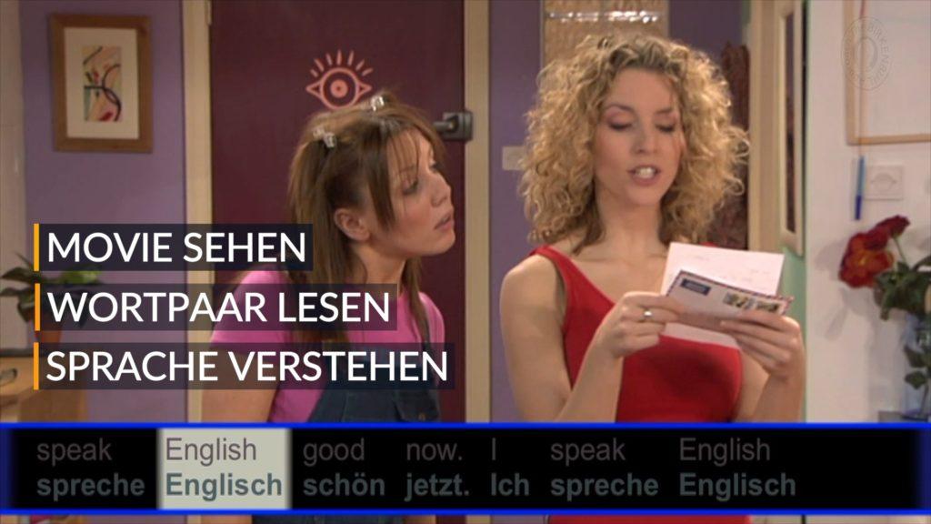 Videoausschnitt aus dem Movie Sprachkurs von Brain-Friendly